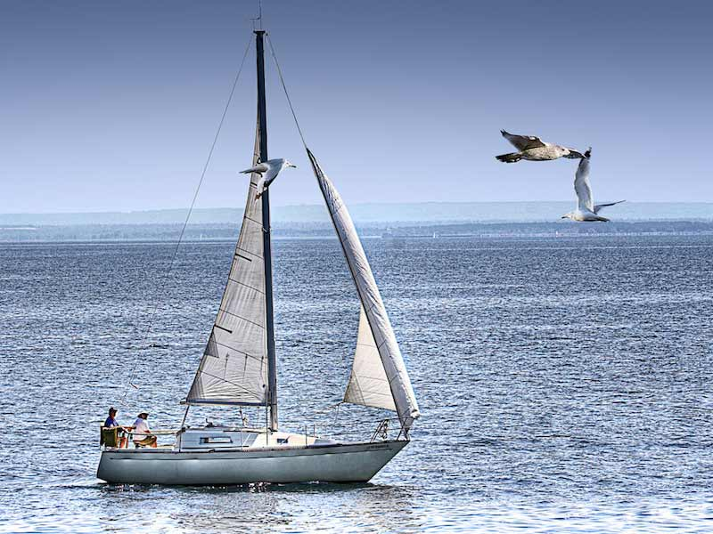 Barco à vela (Imagem: Flickr/Randen Pederson)