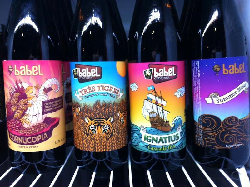 Cervejas artesanais de Ilhabela (Imagem: Divulgação/Cervejaria Caiçara)