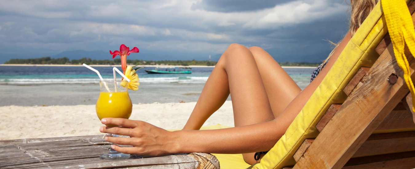 Comida de verão em Ilhabela