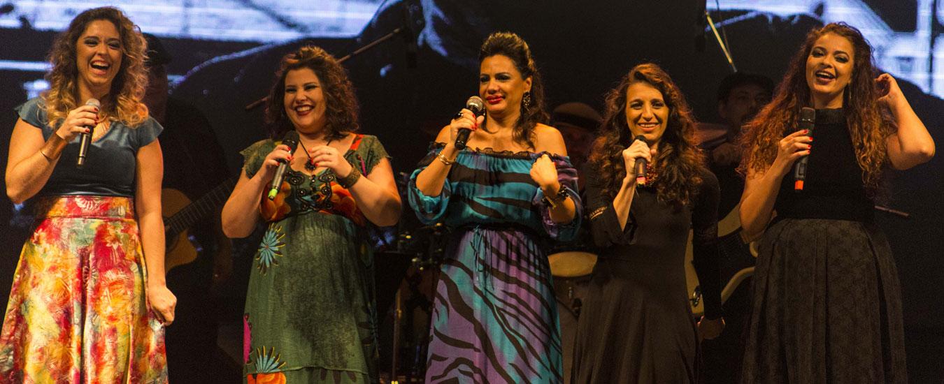 Cantoras da Ilha em Ilhabela (foto: Marcel Nascimento)