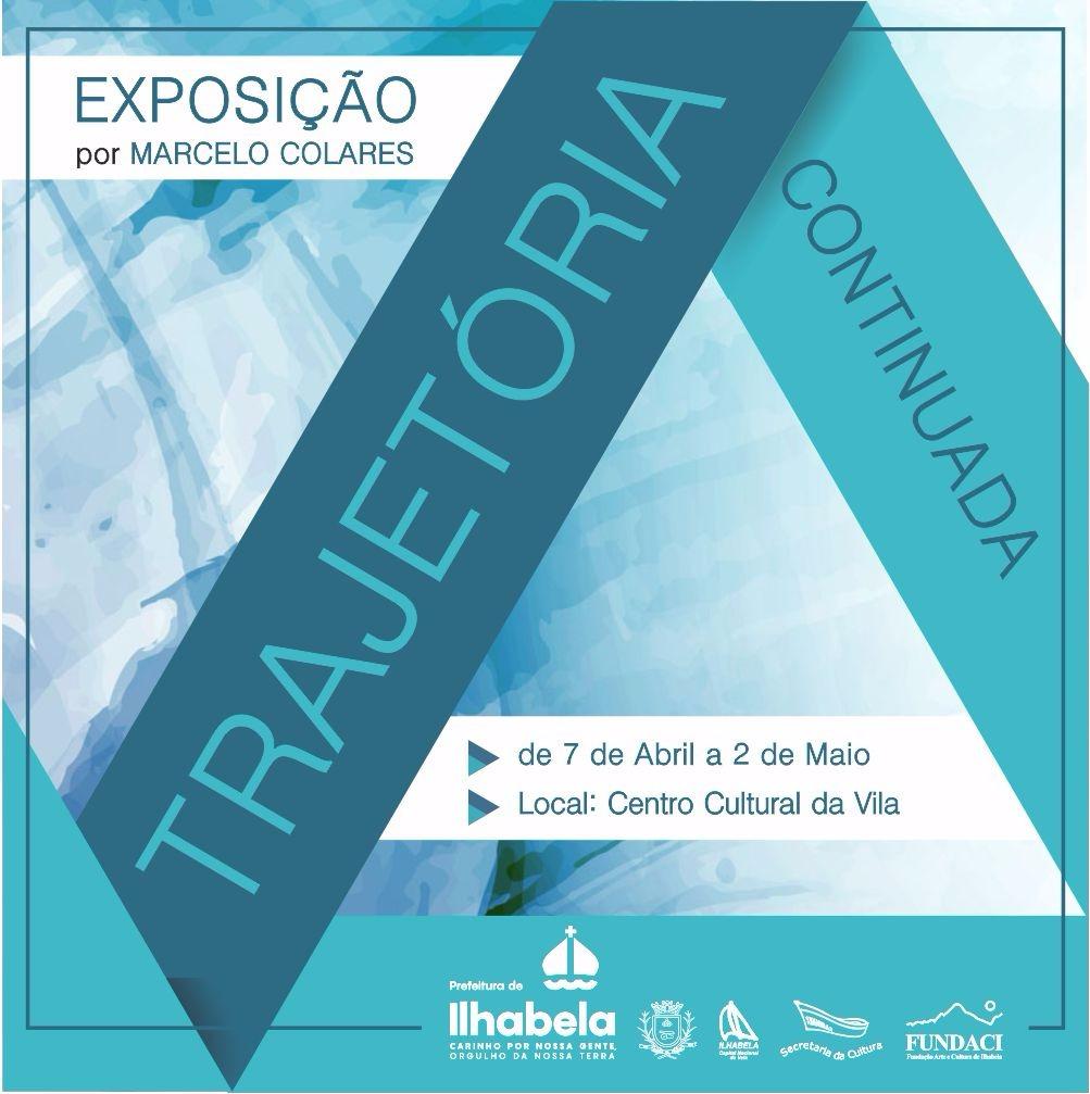 Exposição Trajetória Continuada em Ilhabela