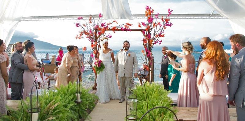 Juliana e Rogério - Casamento em Ilhabela