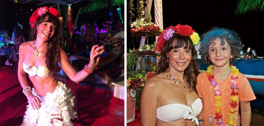 Mylla Christie no Carnaval 2017 em Ilhabela