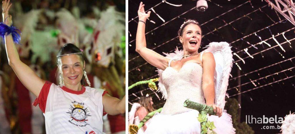 Mylla Christie desfila pela Mocidade Independente de Ilhabela há 4 anos