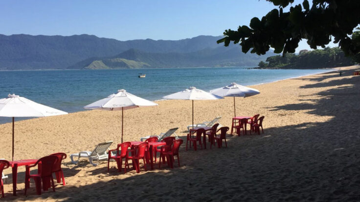 Praia do Curral - Papagaio Ilhabela