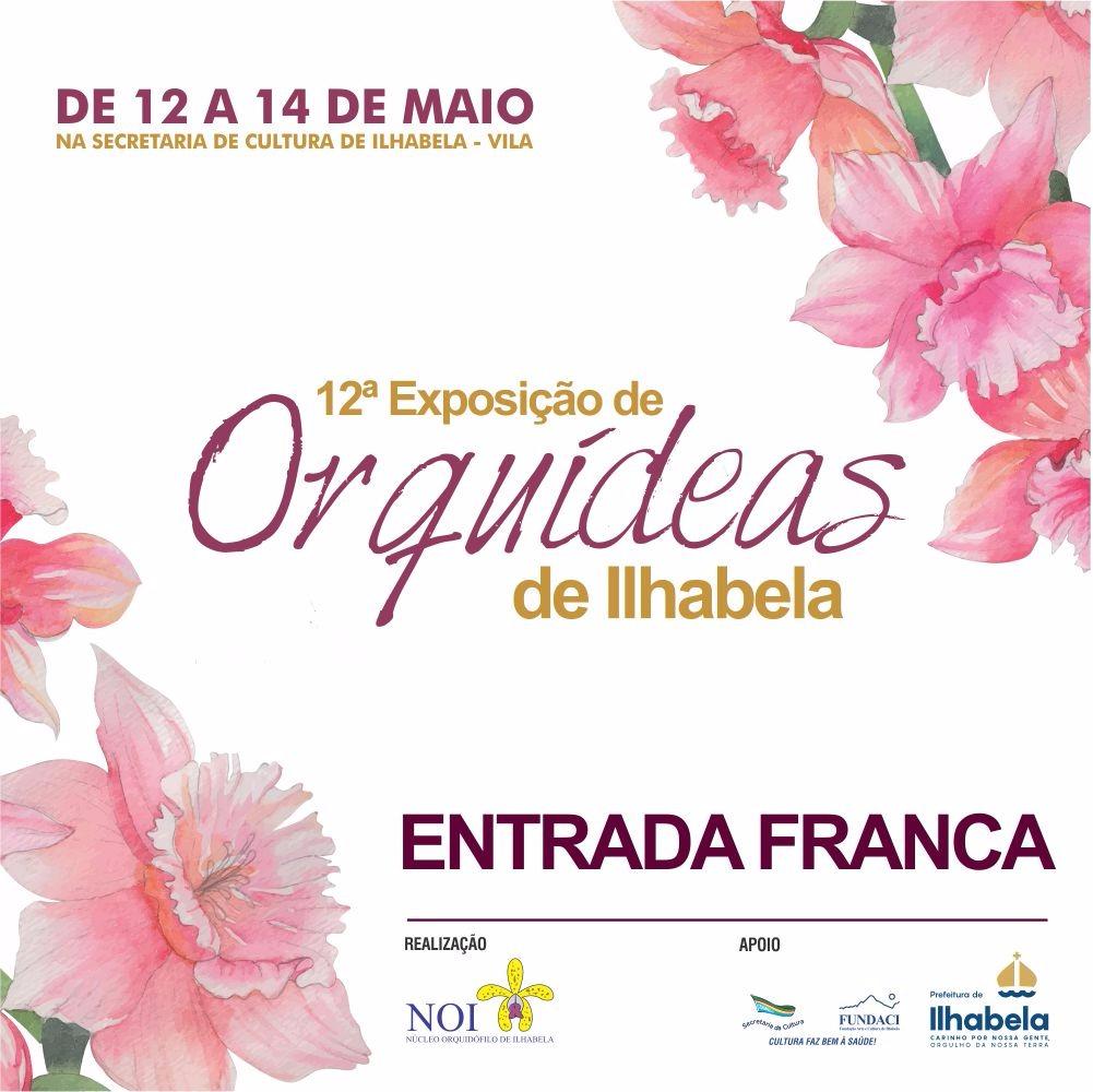 Exposição de Orquídeas - Dia das Mães em Ilhabela