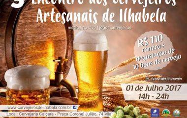3º Encontro dos Cervejeiros Artesanais de Ilhabela