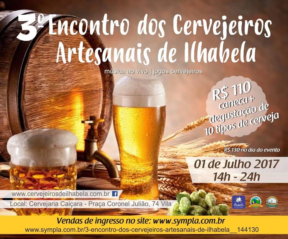 3o Encontro de Cervejeiros Artesanais de Ilhabela