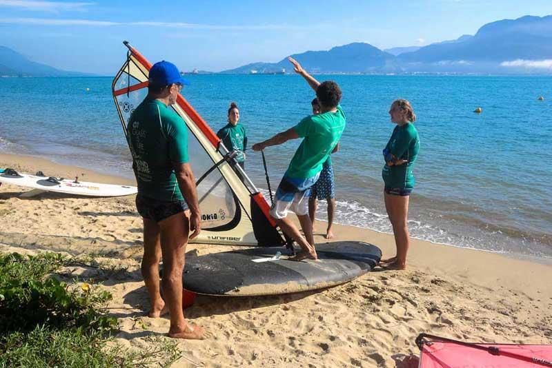 OI Glass is Life Windsurf Experience - Almasurf - Aulas gratuitas de windsurf em Ilhabela