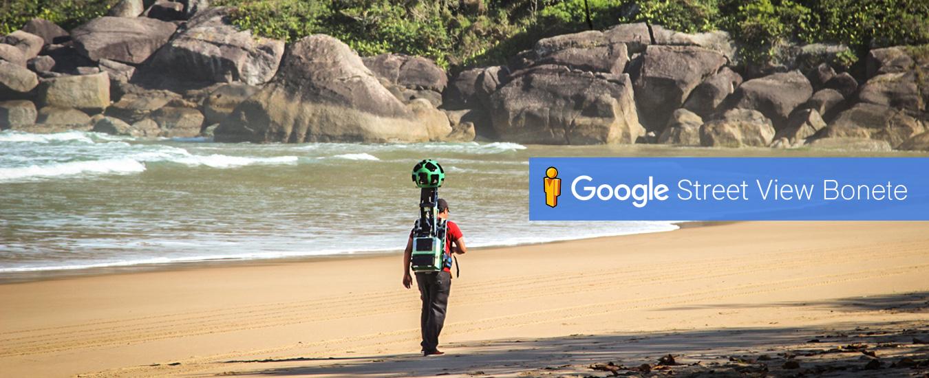 Google Trekker Ilhabela - Faça a trilha do Bonete online