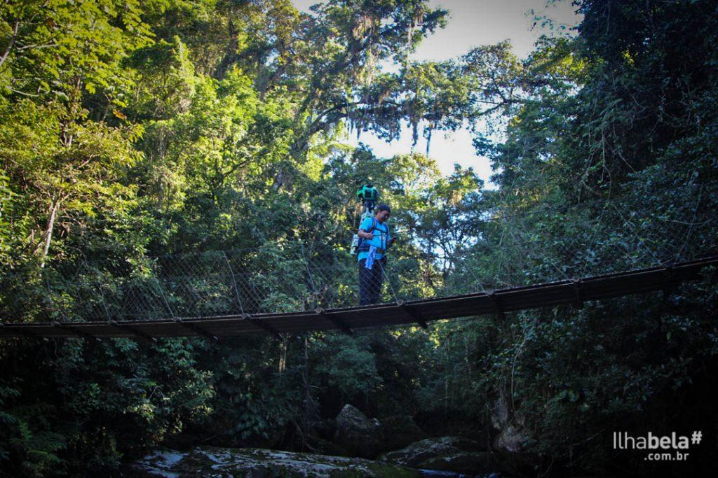 Google Trekker - Trilha do Bonete em Ilhabela