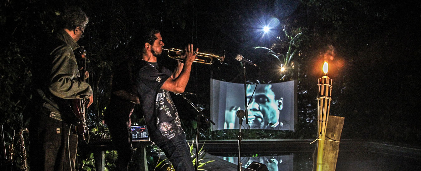 Jazz no Hostel em Ilhabela