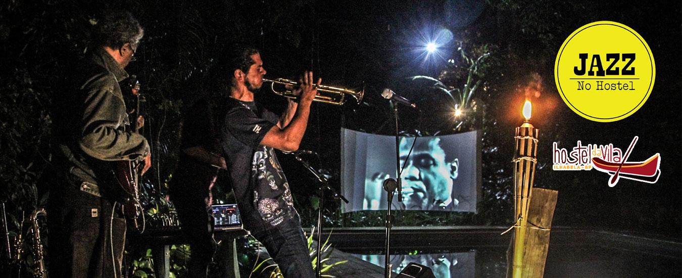 Jazz no Hostel em Ilhabela - 9 de setembro