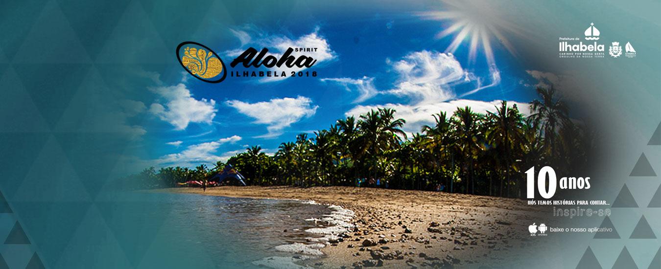Resultado de imagem para aloha spirit ilhabela 2018