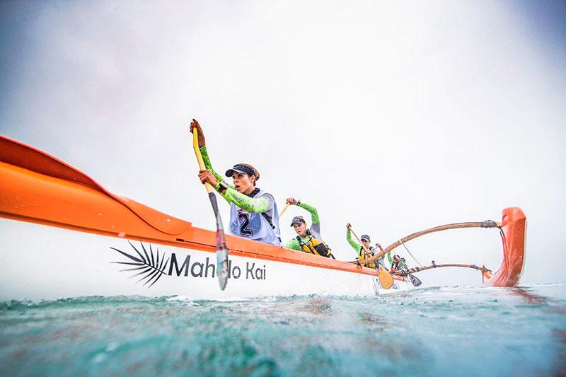 Canoa Havaiana OC6 no Aloha Spirit Ilhabela (Foto: Alexandre Socci / Divulgação)