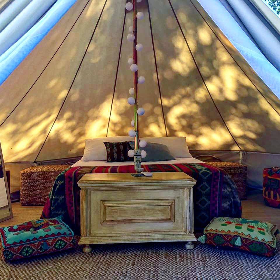 Hostel da Vila - Hospedagem Criativa em Ilhabela - Cabanas com ar condicionado
