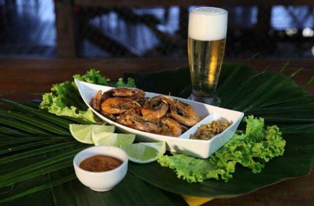 Camarão - Restaurante Nova Iorqui - Ilhabela