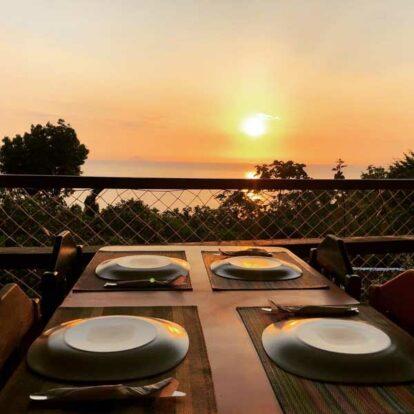 Pôr do Sol - Restaurante Nova Iorqui - Ilhabela