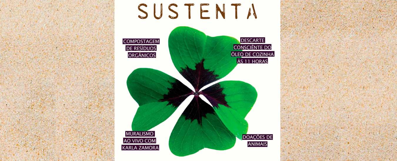 Feira Sustenta chega à terceira edição: dia 07 de abril em Ilhabela