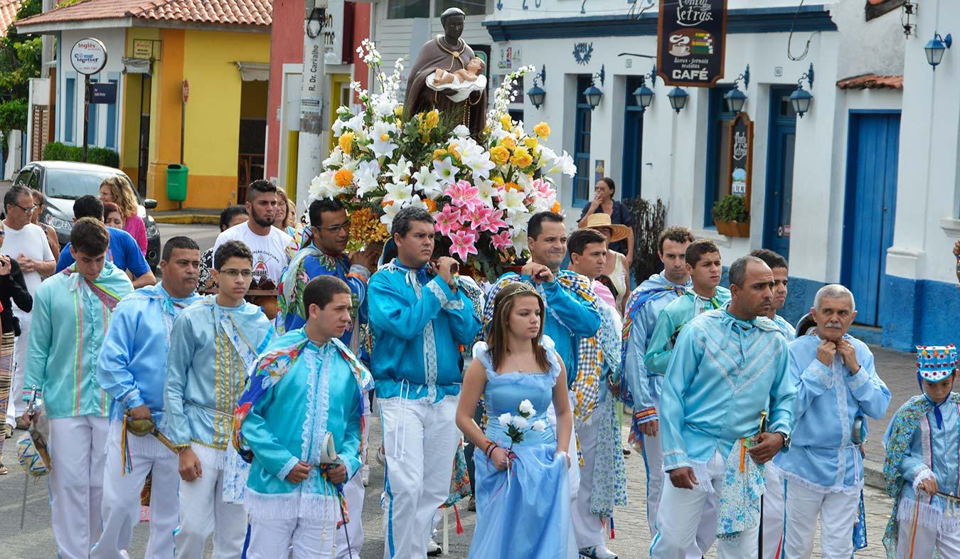 Semana da Cultura Caiçara - Congada de São Benedito em Ilhabela