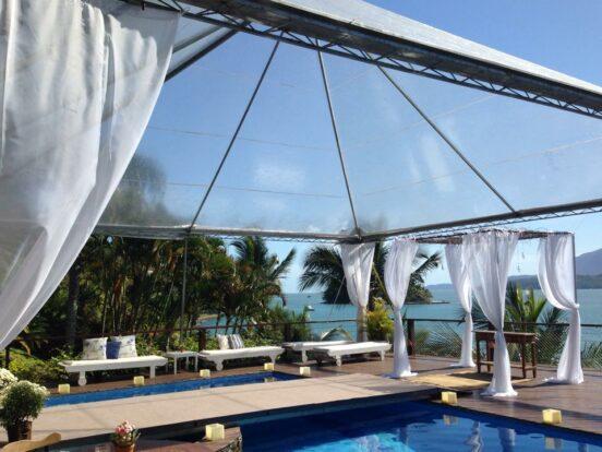 AlugTendas - Tenda para casamento na praia