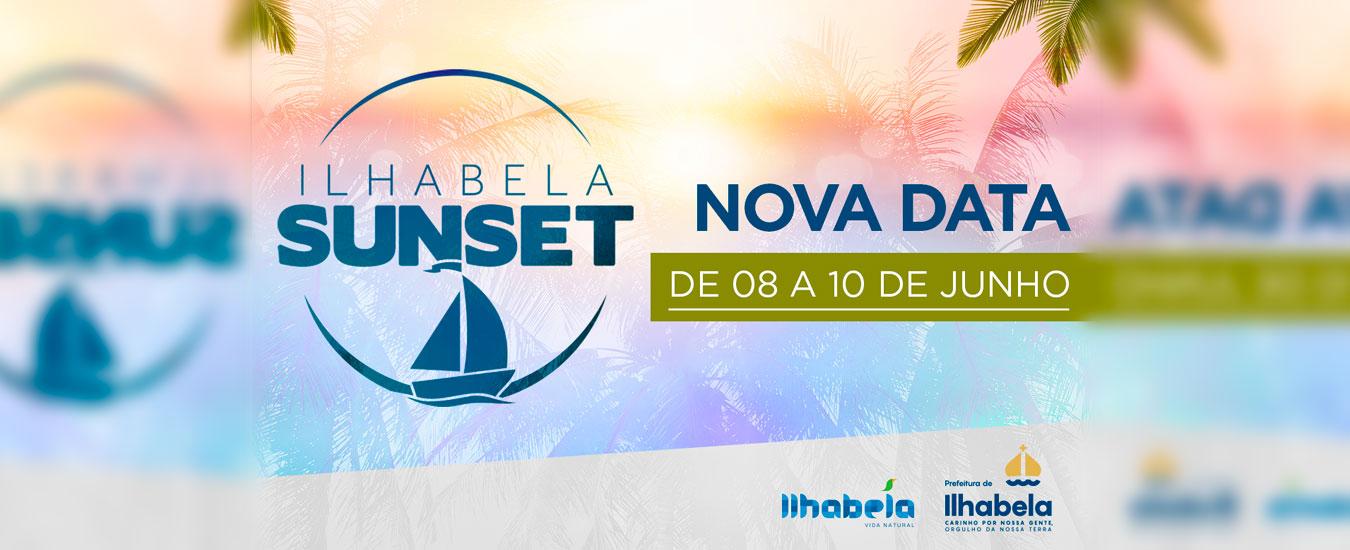Ilhabela Sunset - 8 a 10 de junho na Vila