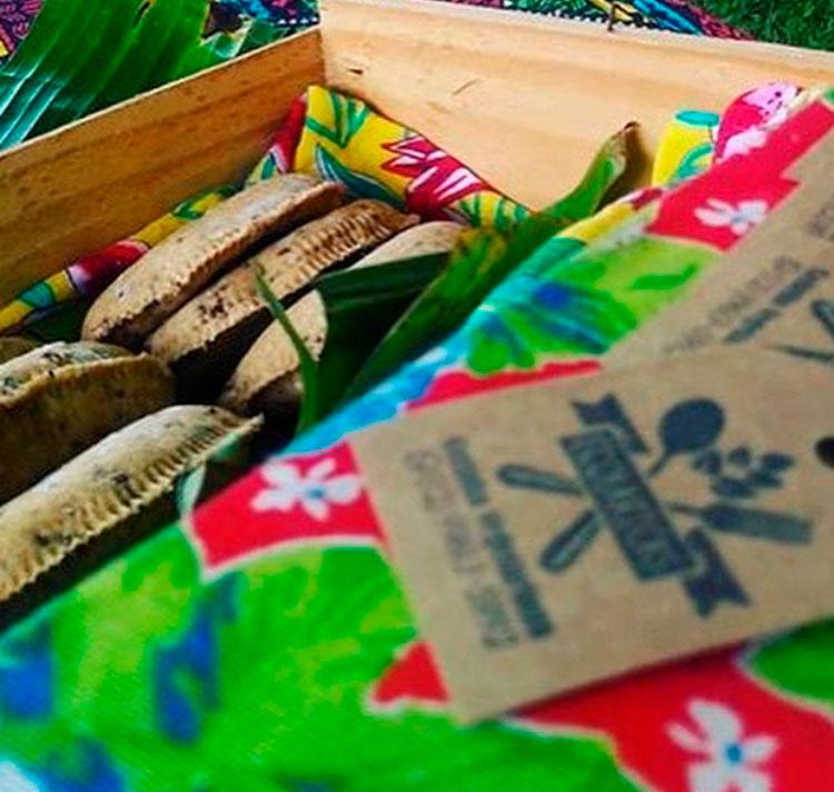 Ecolaricas - Salgados Veganos - Sustenta Ilha
