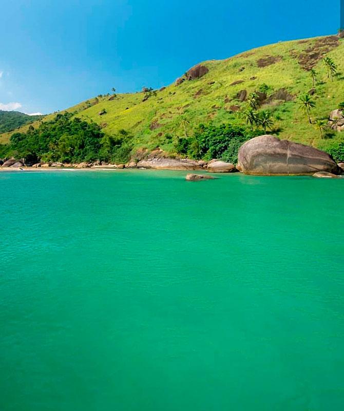 Praia do Bonete - Hallana Oliveira @belailhabela - Ilhabela.com.br (foto: reprodução instagram/@mariojcnogueira)