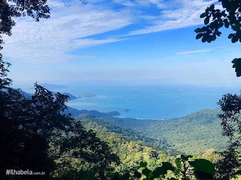 Mirante de Castelhanos no Parque Estadual de Ilhabela (Imagem: Acervo Ilhabela.com.br)