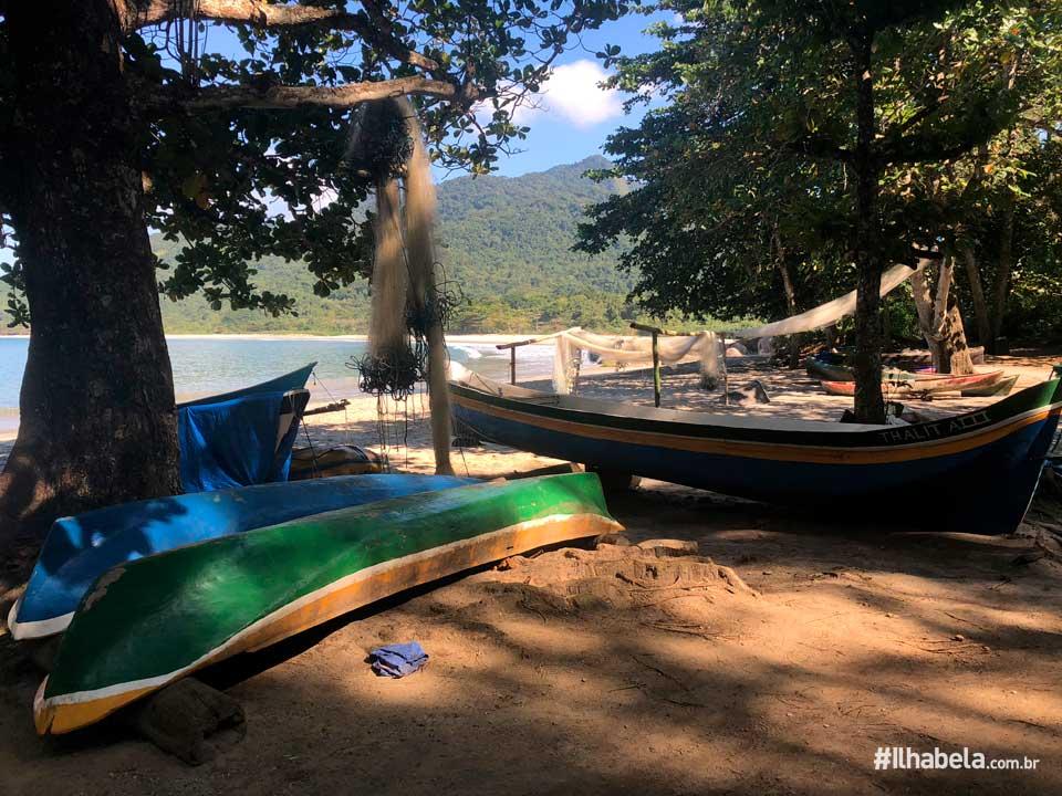 Comunidade Caiçara - Praia de Castelhanos (Imagem: Acervo Ilhabela.com.br)