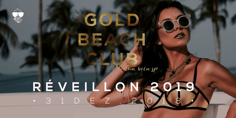 Reveillon 2019 em Ilhabela - Reveillon Gold Beach Club