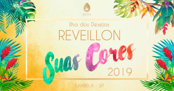 Reveillon 2019 em Ilhabela - Reveillon Suas Cores - Porto do Engenho