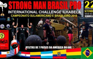 Strong Man Brasil Pro em Ilhabela
