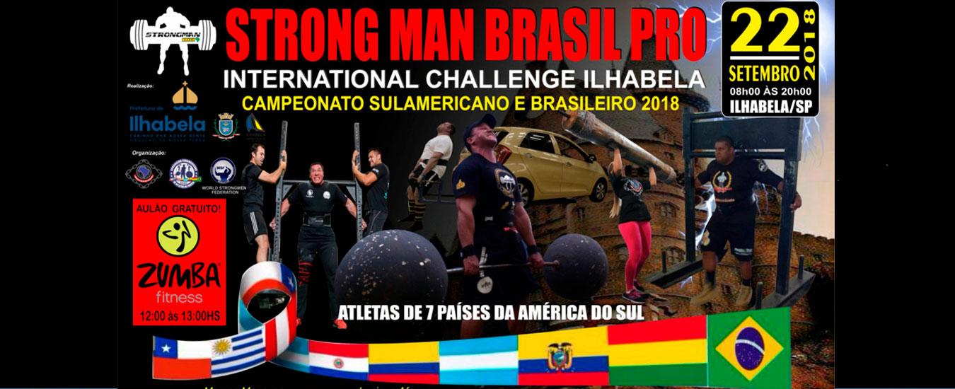 Strong Man Brasil Pro Ilhabela