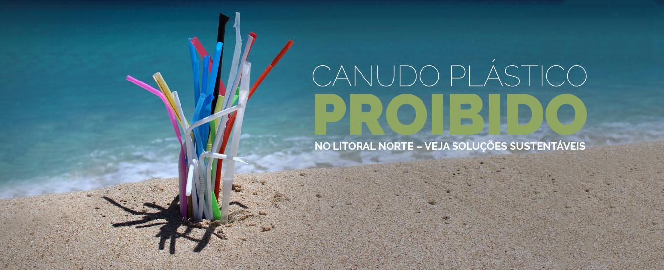 Canudo plástico proibido no Litoral Norte - Veja soluções sustentáveis para este verão
