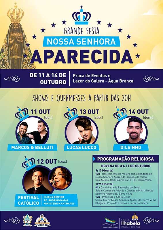 Festa de Nossa Senhora Aparecida em Ilhabela