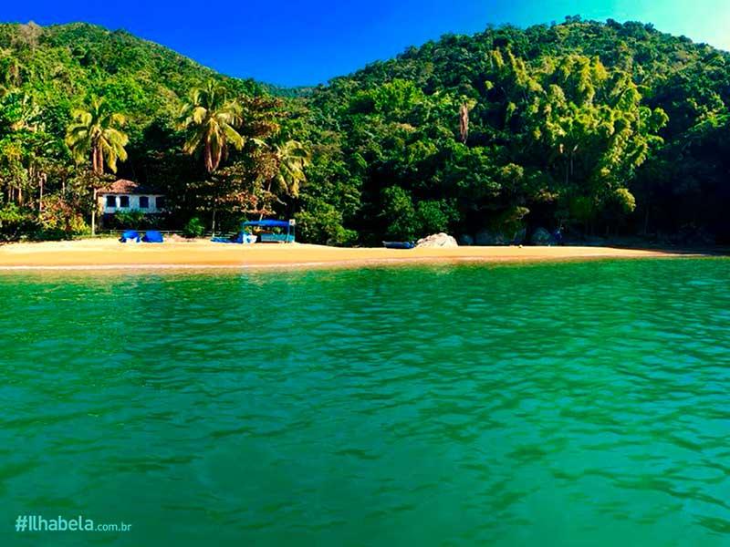 Praias quase desertas - Praia da Fome - Ilhabela