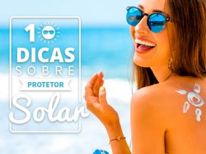 10 dicas sobre protetor solar - Dicas de Verão - Ilhabela.com.br