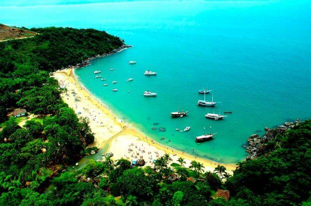 Praia de Jabaquara - Ilhabela - Maremar Turismo