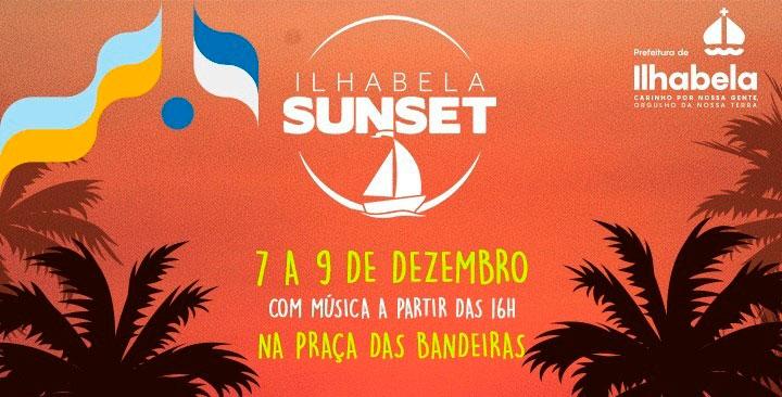 Ilhabela Sunset acontece de 7 a 9 de dezembro