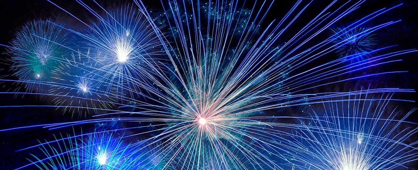 Programação de queima de fogos e shows em Ilhabela - Reveillon 2019