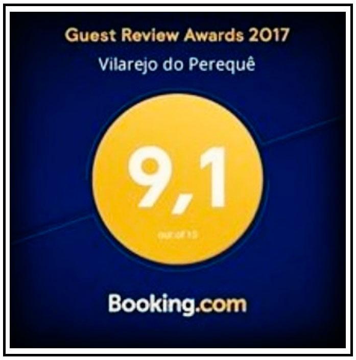 Pousadinha Vilarejo do Perequê - Avaliação Booking - Ilhabela.com.br