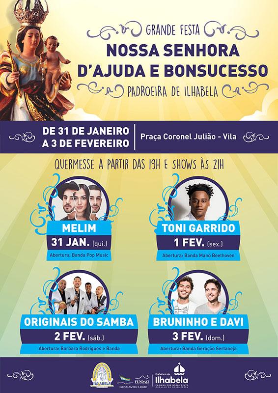 Festa de Nossa Senhora D'Ajuda e Bonsucesso - Padroeira de Ilhabela