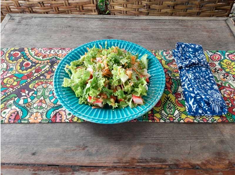 Salada - Bar do Dani - Refeições saudáveis em Ilhabela