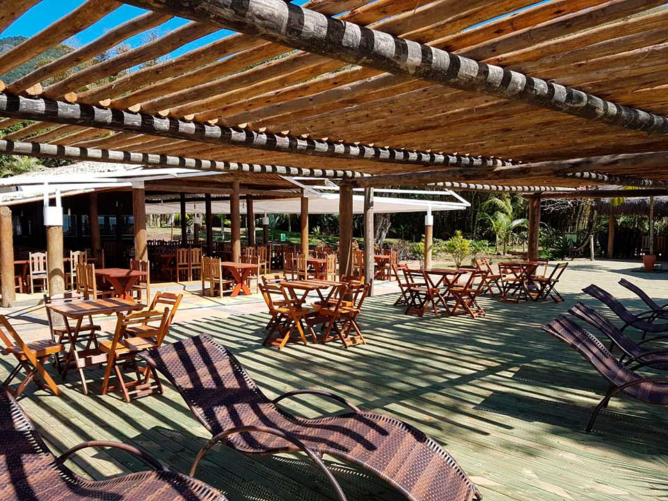 Praia do Jabaquara - Espaço Tangará - Restaurante, Bar de Praia e Espaço de Eventos em Ilhabela