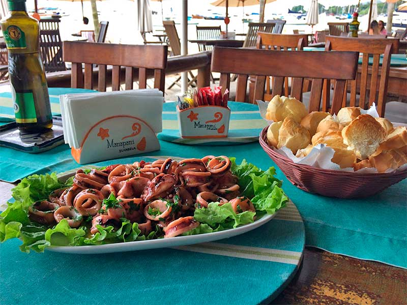 Lula à Provençal - Restaurante e Quiosque Manapani Ilhabela