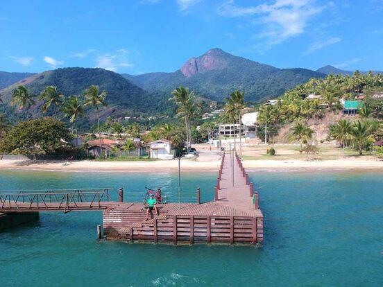 Pier do Engenho D'Água - Suítes Chalés Mara - Ilhabela