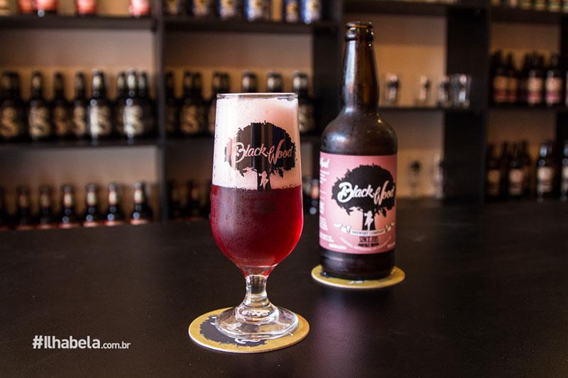 Raspberry Wheat - Cerveja de Framboesa - Cervejaria Blackwood Ilhabela