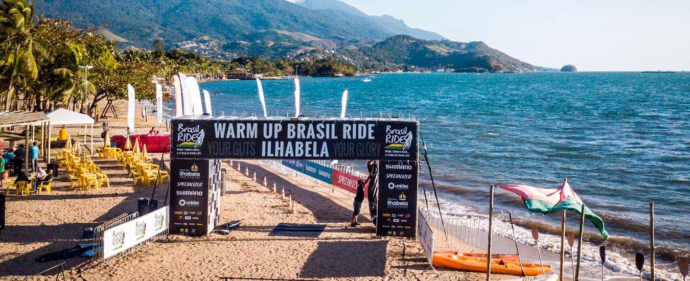 Brasil Ride promove ações ambientais em Ilhabela na véspera do Warm Up