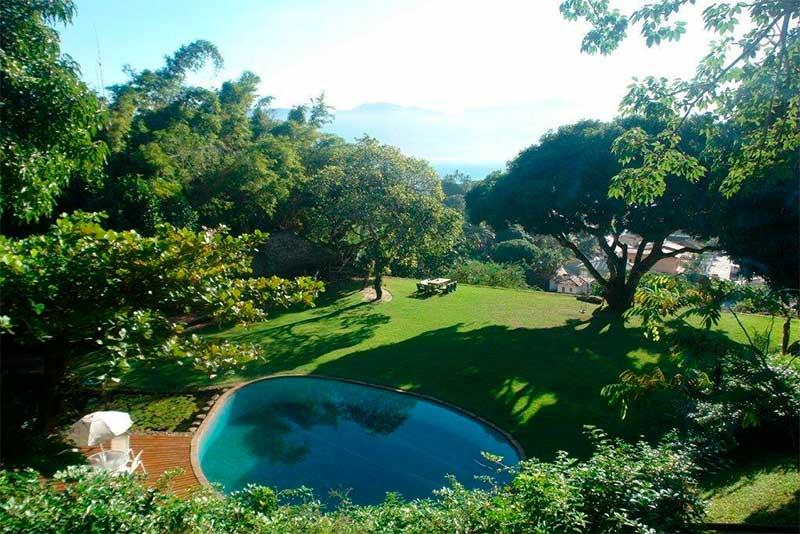 Casas D'Água Doce - Cachoeira - Casamentos em Ilhabela